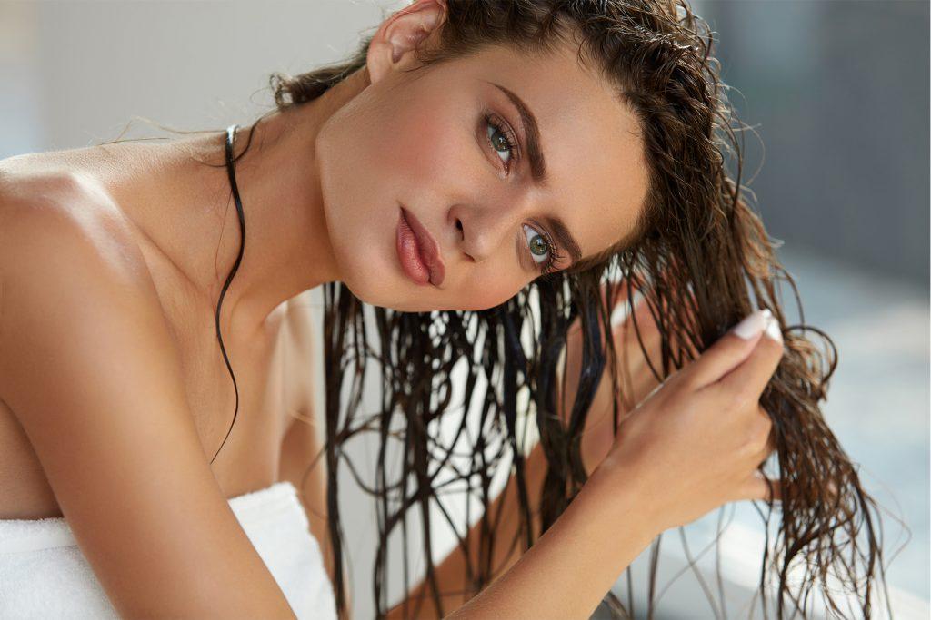 Secando cabelos